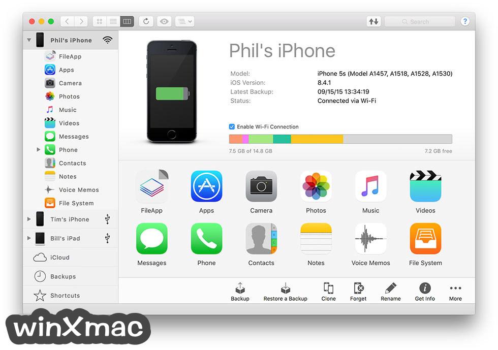 iMazing for Mac Screenshot 1