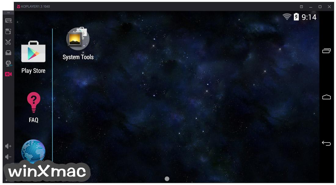 KOPLAYER for Mac Screenshot 1