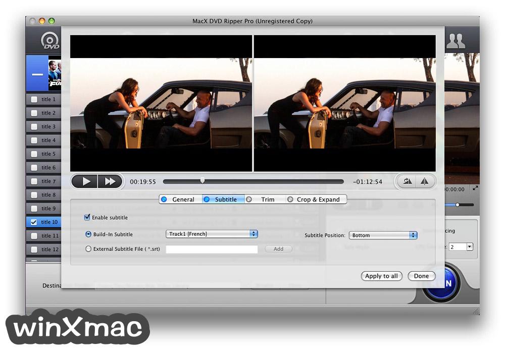 MacX DVD Ripper Pro Screenshot 3