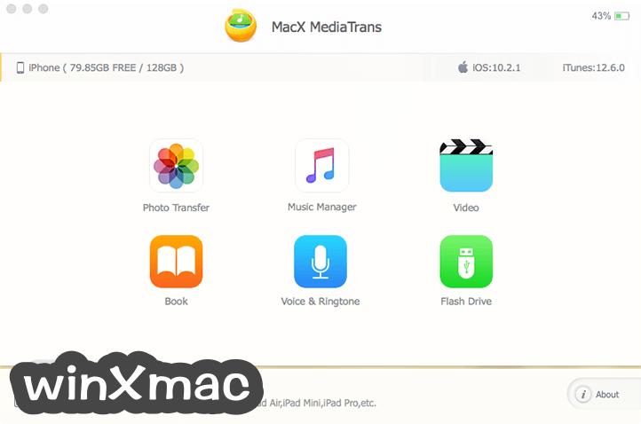 MacX MediaTrans Screenshot 1