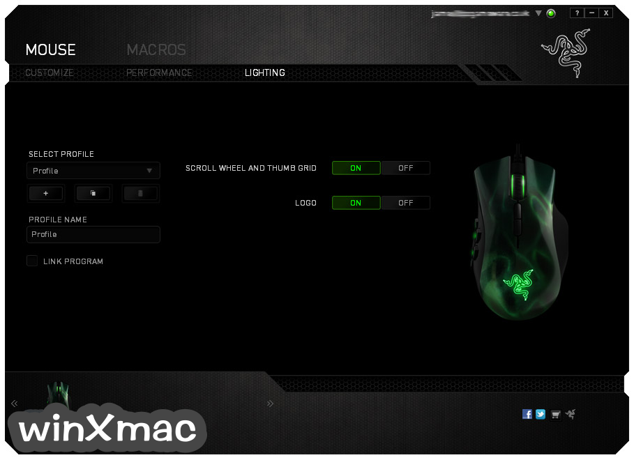 Razer Synapse for Mac Screenshot 1