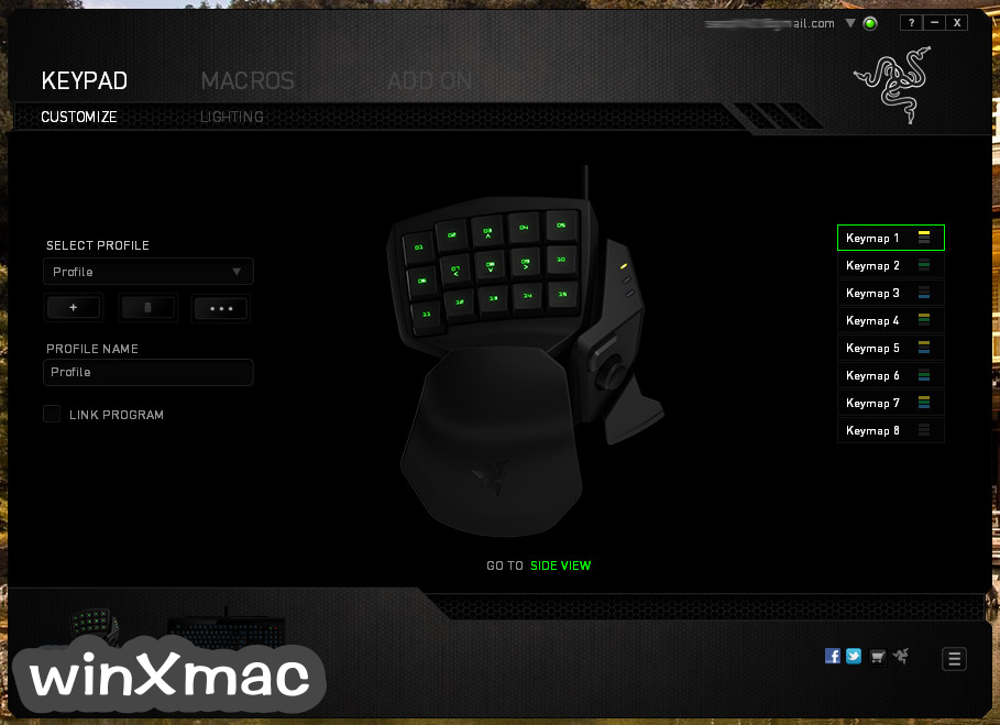 Razer Synapse for Mac Screenshot 2