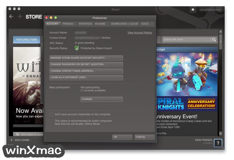 Steam for Mac Screenshot 2