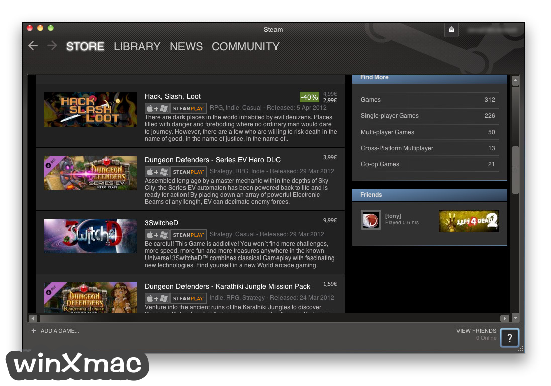 Steam for Mac Screenshot 4