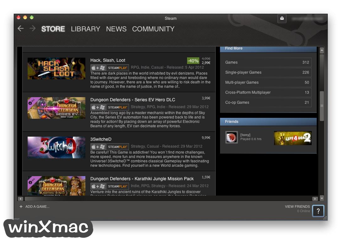 Steam for Mac Screenshot 4