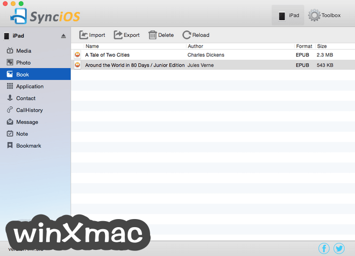 Syncios for Mac Screenshot 3