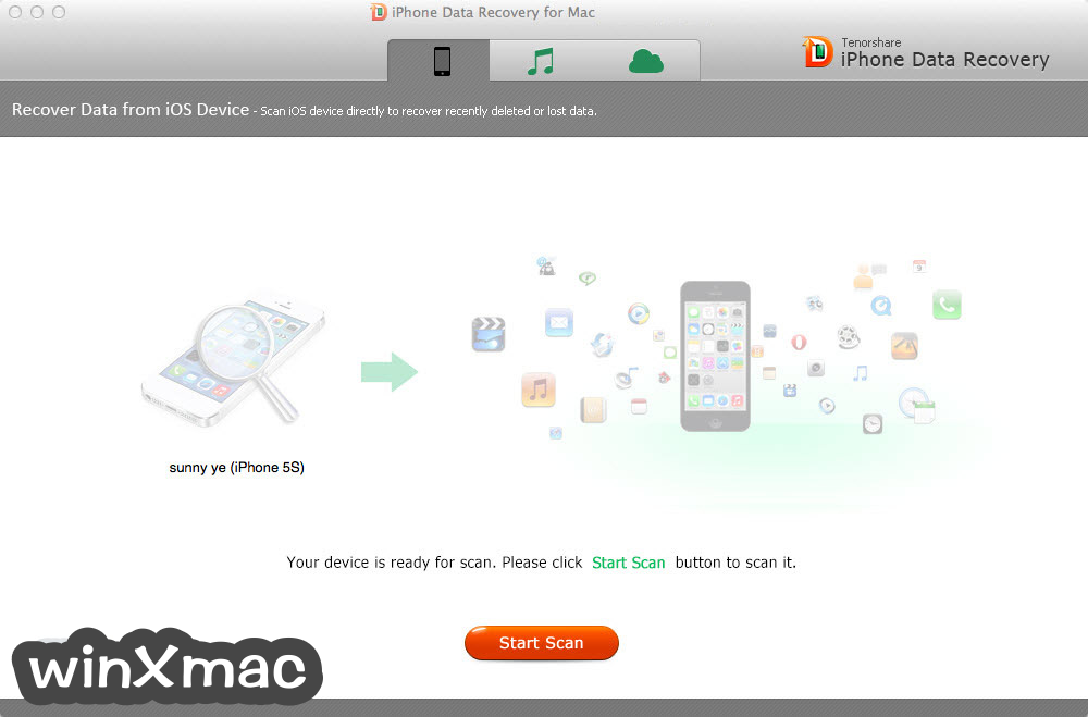 Tenorshare UltData for Mac Screenshot 1