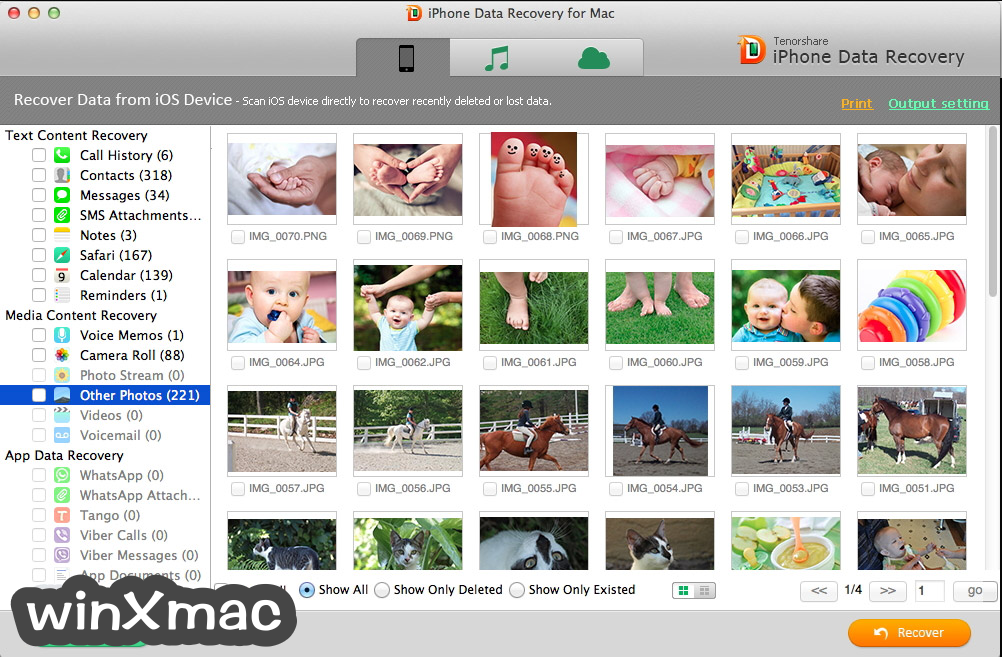 Tenorshare UltData for Mac Screenshot 2