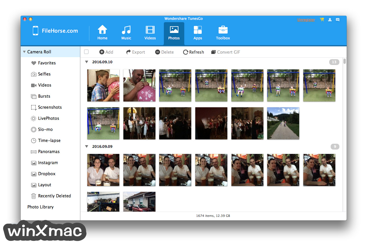 TunesGo for Mac Screenshot 3