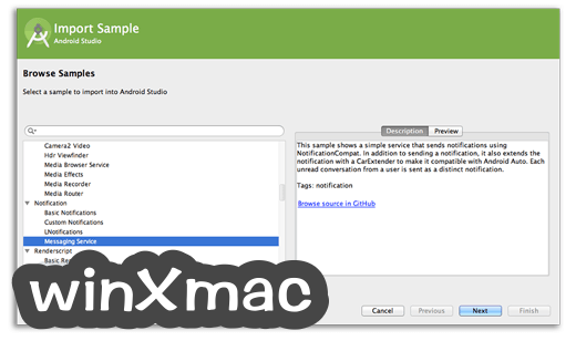 Android Studio for Mac Screenshot 2
