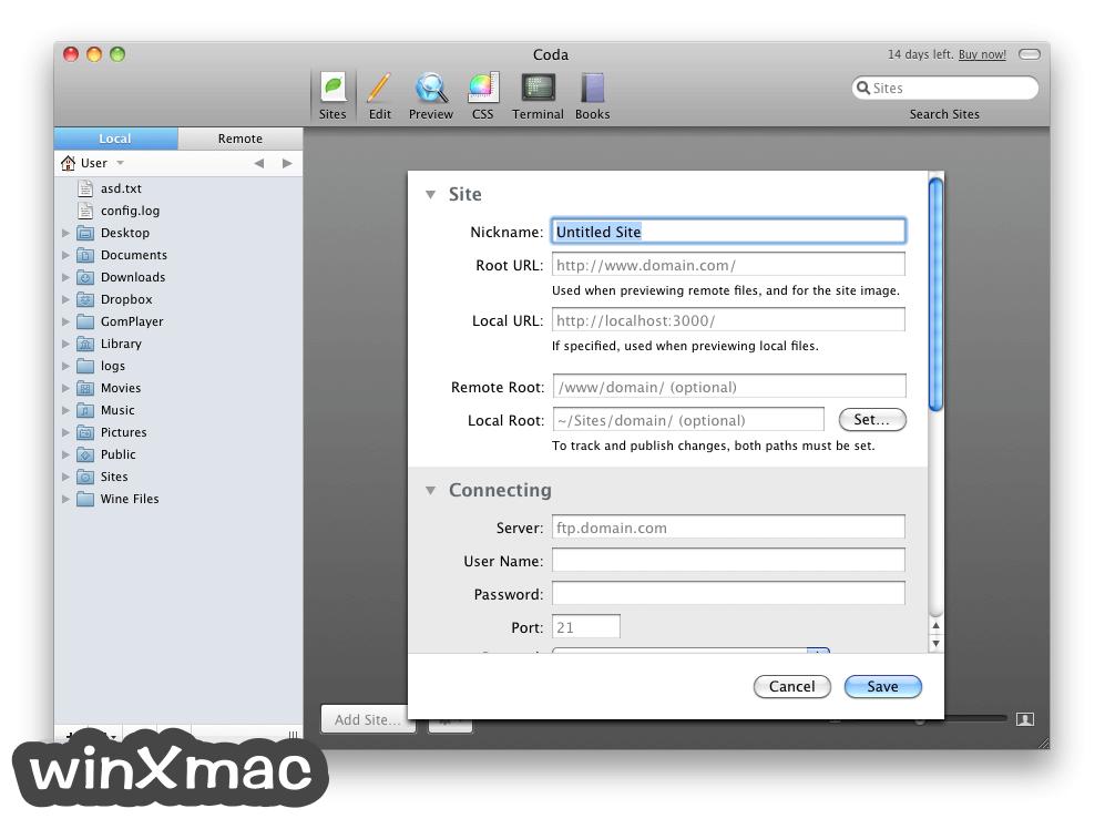 Coda for Mac Screenshot 2