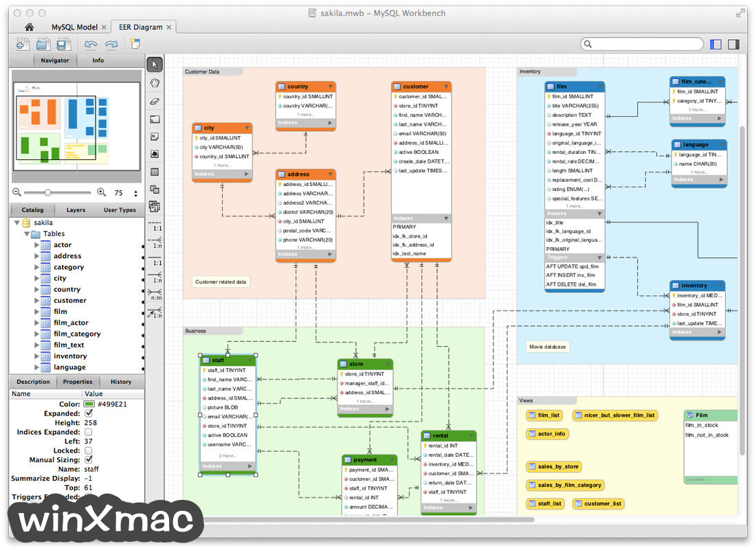 MySQL Workbench for Mac Screenshot 2