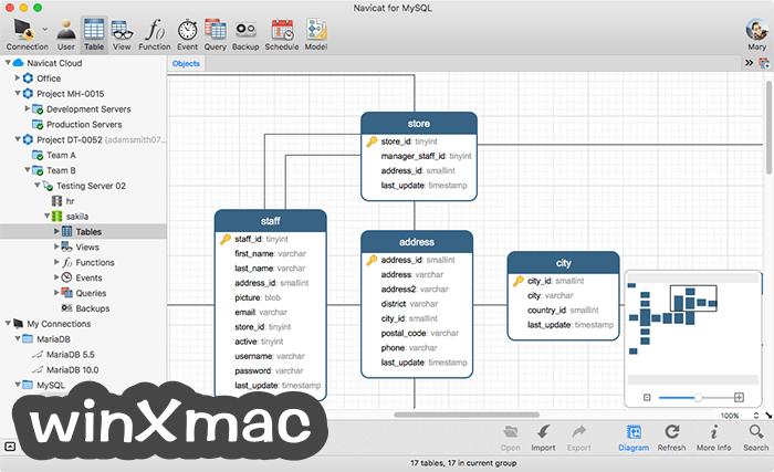 Navicat for MySQL Screenshot 1