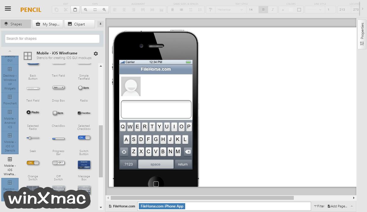 Pencil for Mac Screenshot 1