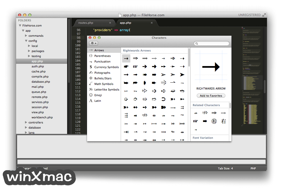Sublime Text for Mac Screenshot 3