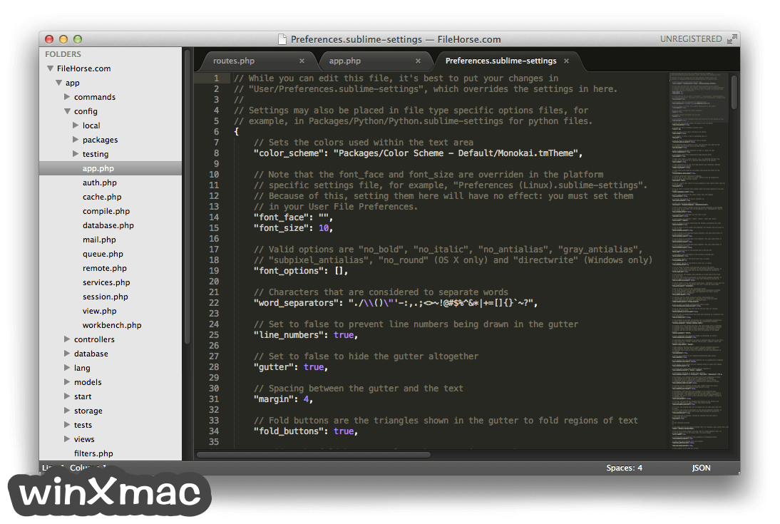 Sublime Text for Mac Screenshot 5