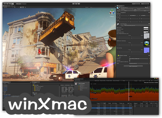 Unity for Mac Screenshot 1