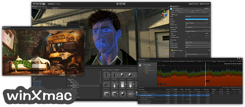 Unity for Mac Screenshot 2