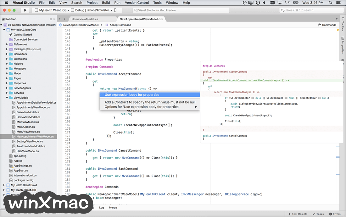 Visual Studio Community for Mac Screenshot 1