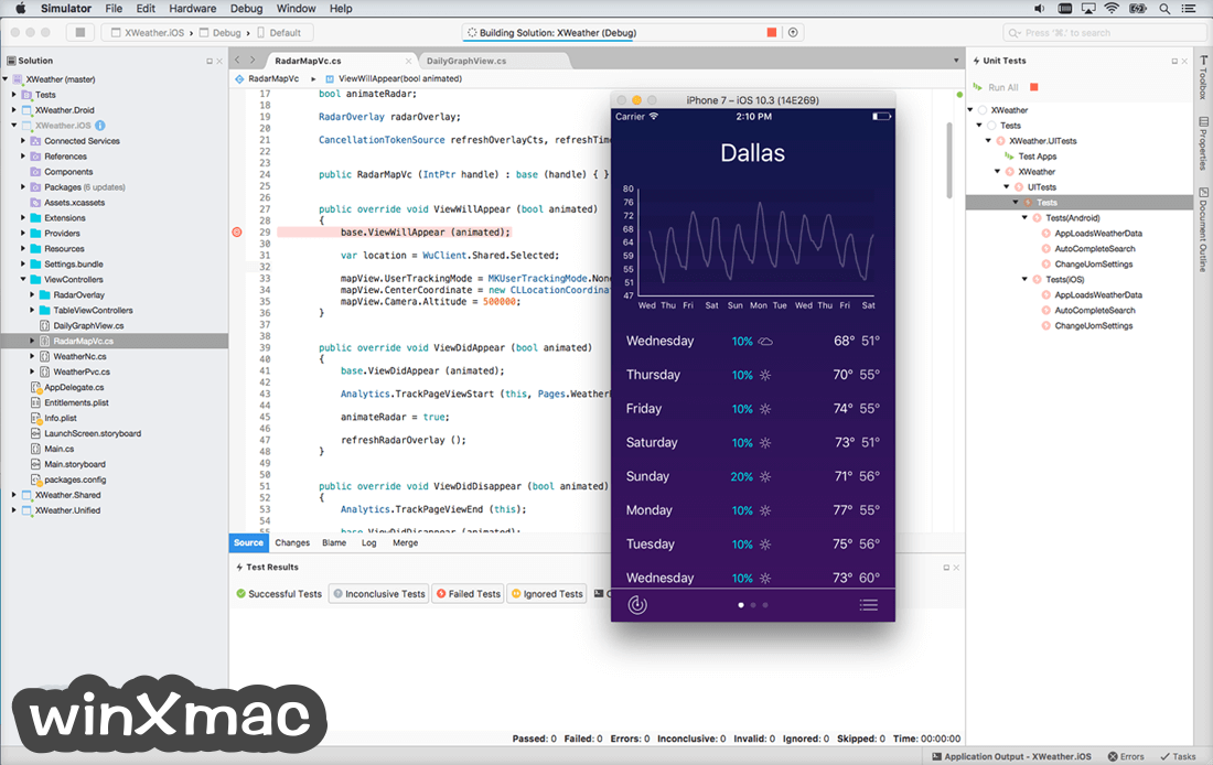 Visual Studio Community for Mac Screenshot 2