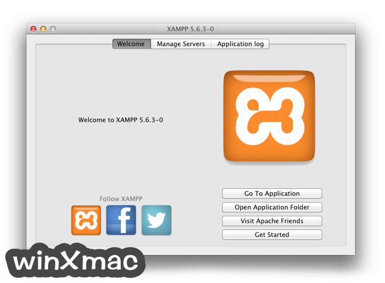 XAMPP for Mac Screenshot 1
