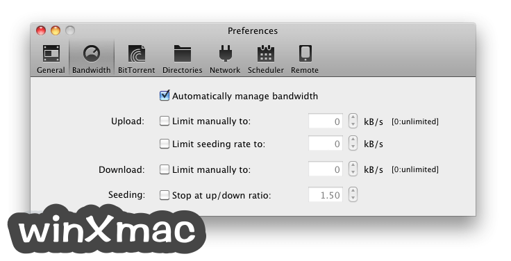 BitTorrent for Mac Screenshot 3