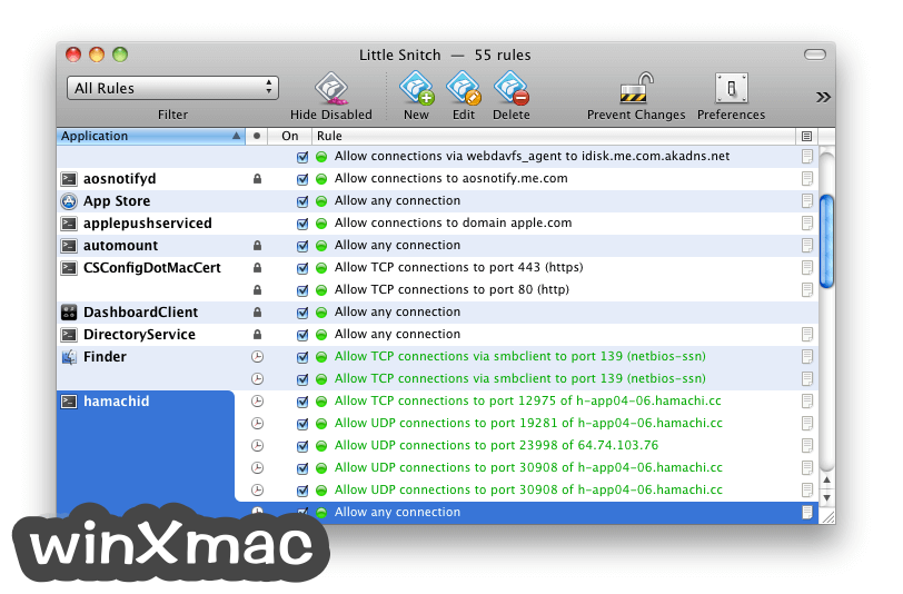 Little Snitch for Mac Screenshot 1