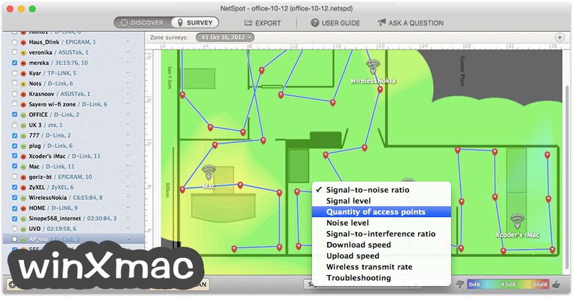 NetSpot for Mac Screenshot 3