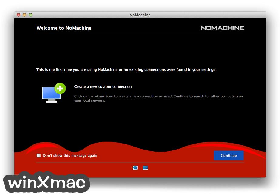 NoMachine for Mac Screenshot 2