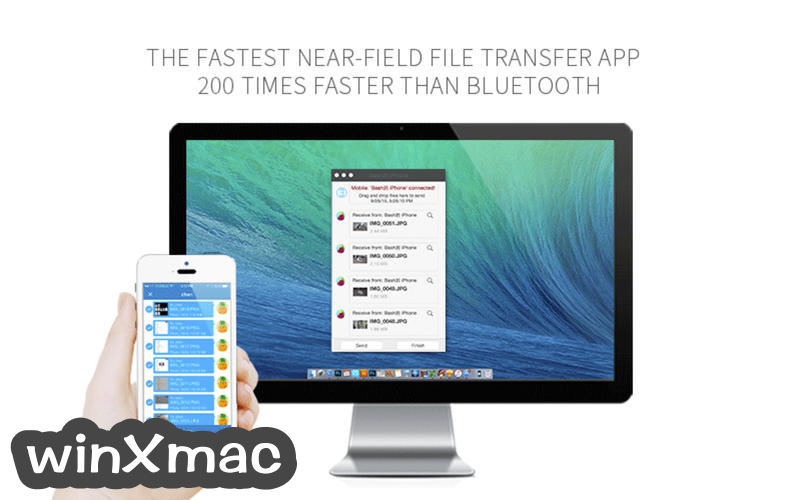SHAREit for Mac Screenshot 2