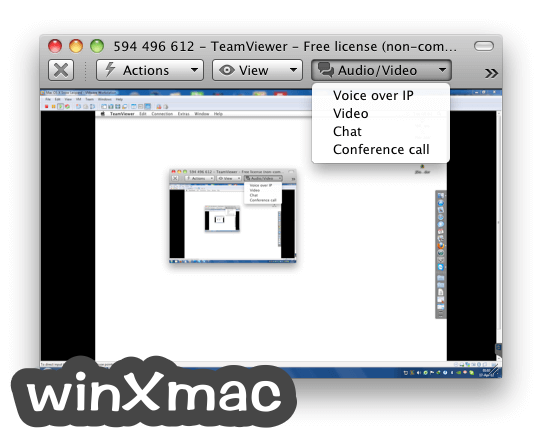 TeamViewer for Mac Screenshot 5