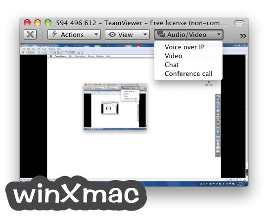 TeamViewer for Mac Screenshot 5