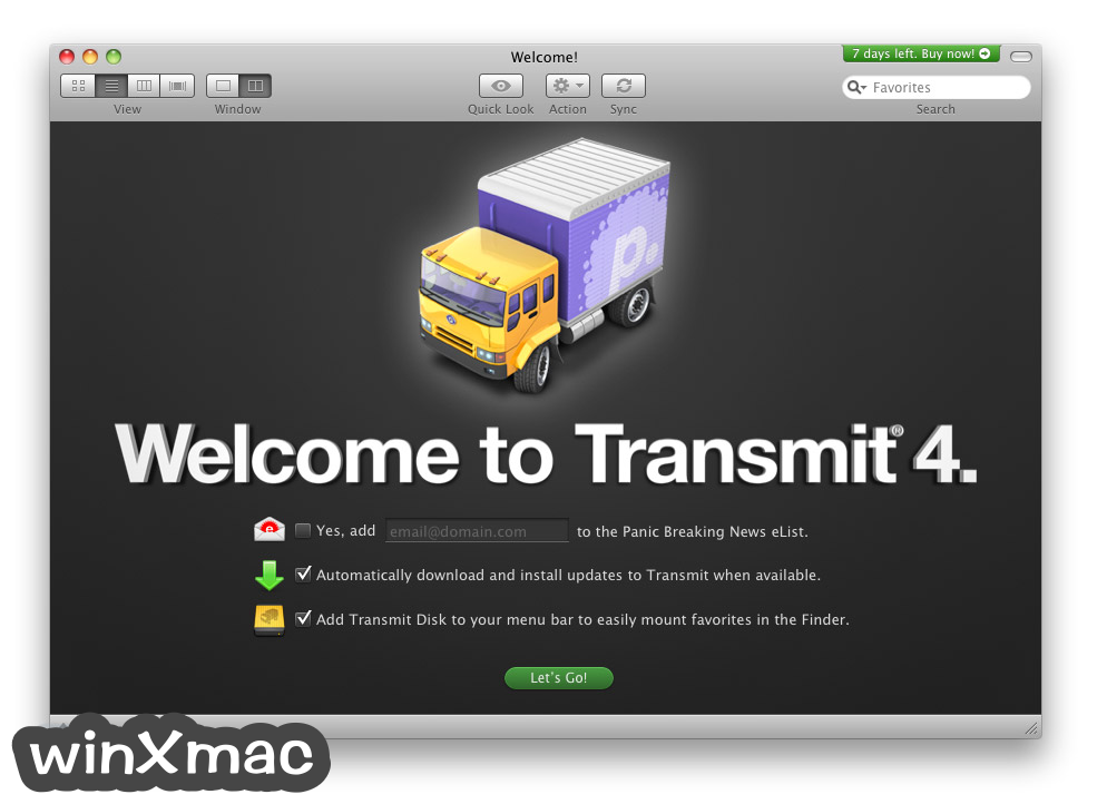 Transmit for Mac Screenshot 1