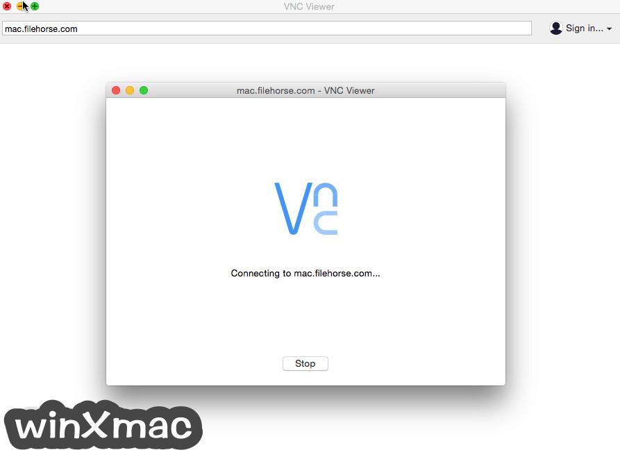 VNC Connect for Mac Screenshot 2