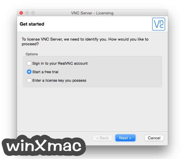 VNC Connect for Mac Screenshot 5