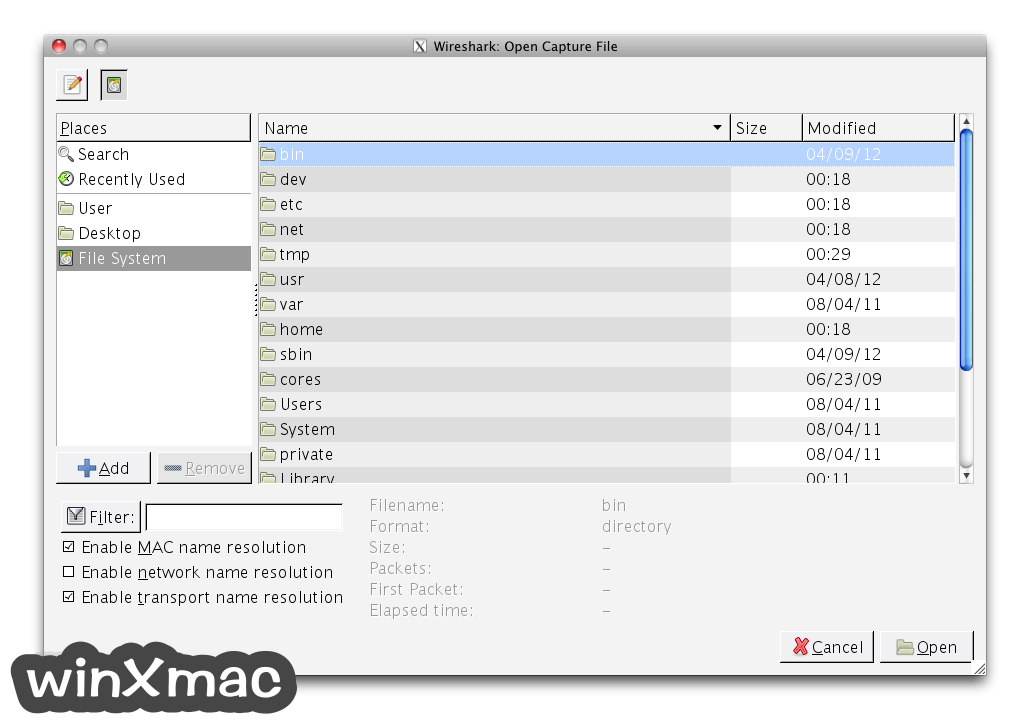 Wireshark for Mac (64-bit) Screenshot 3