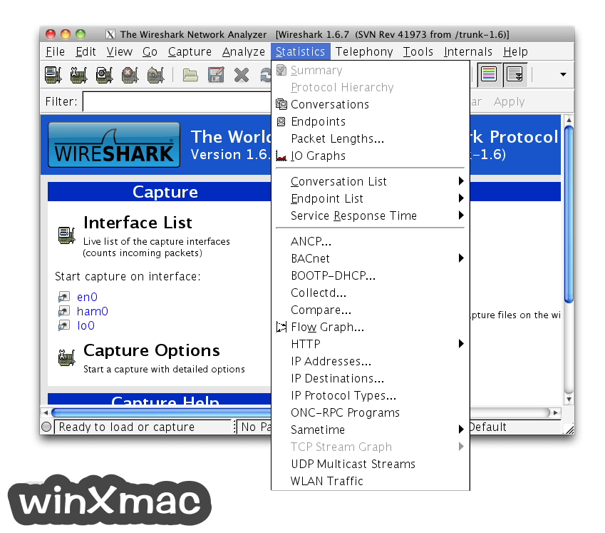 Wireshark for Mac (64-bit) Screenshot 4