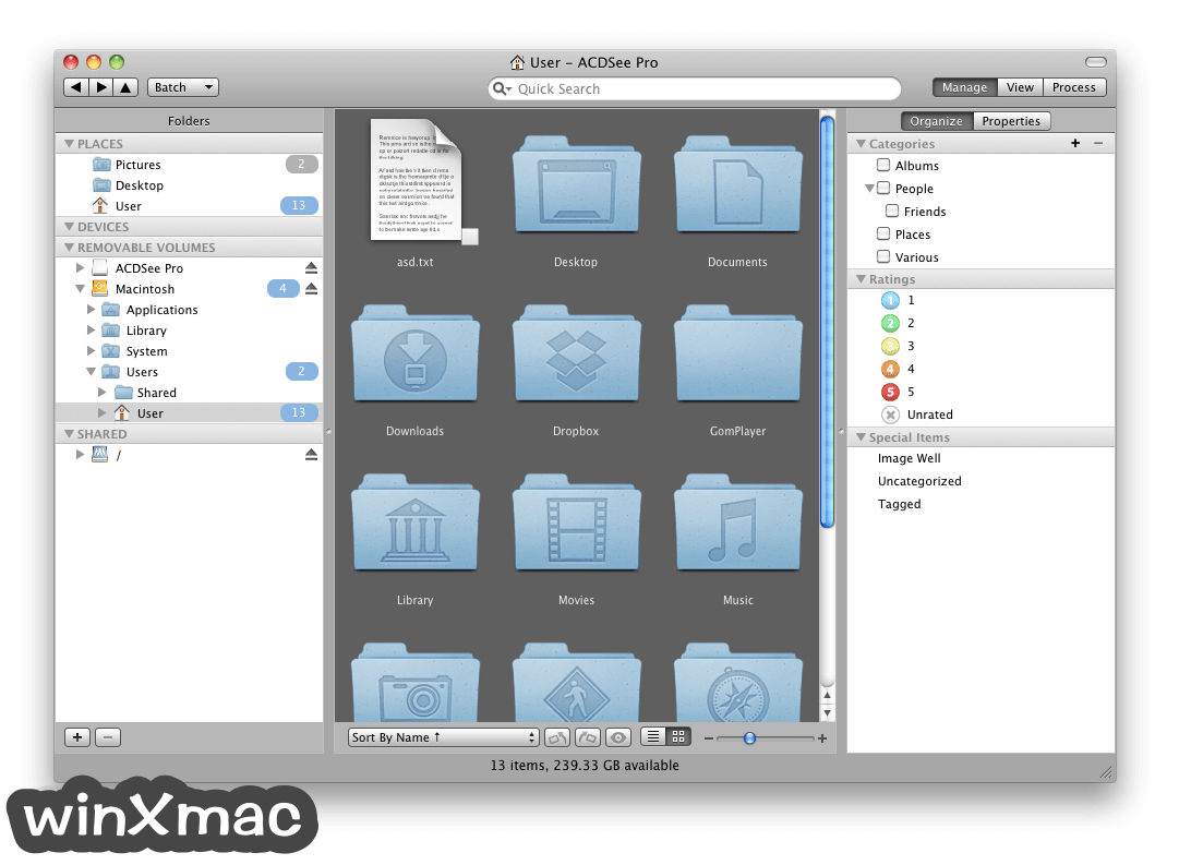 ACDSee Pro for Mac Screenshot 1