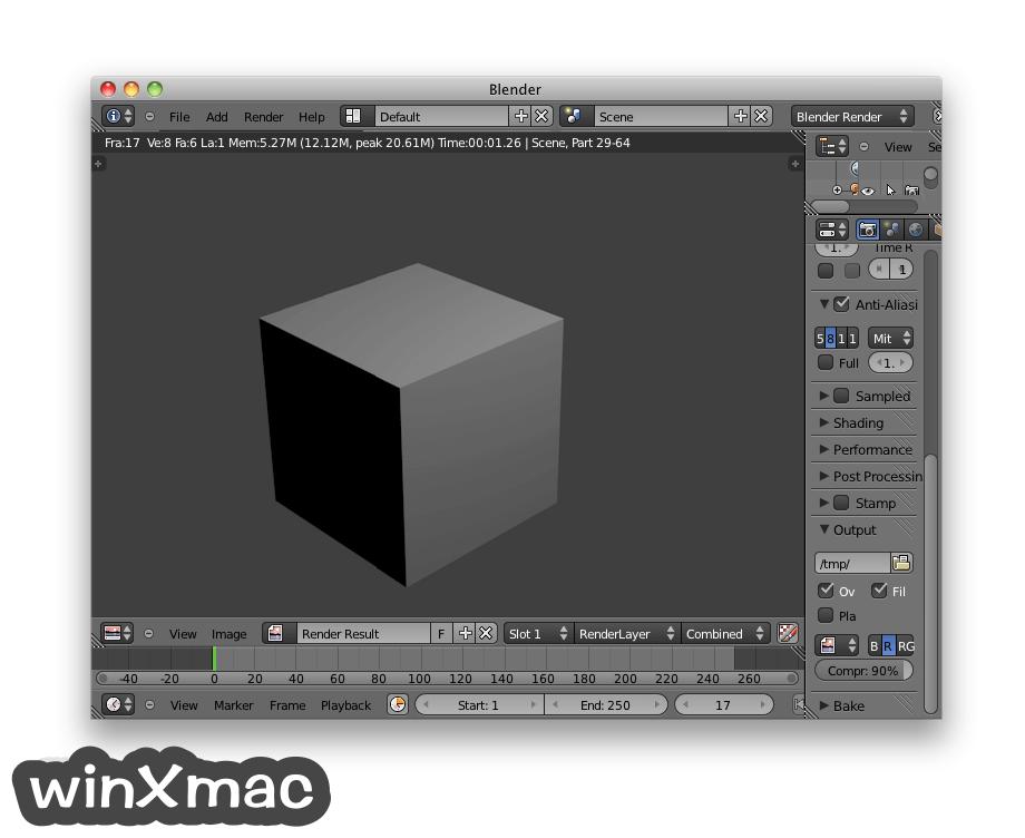 Blender for Mac Screenshot 2