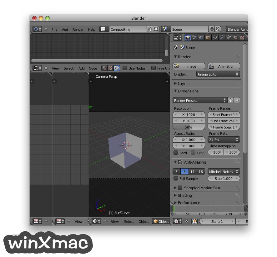 Blender for Mac Screenshot 3