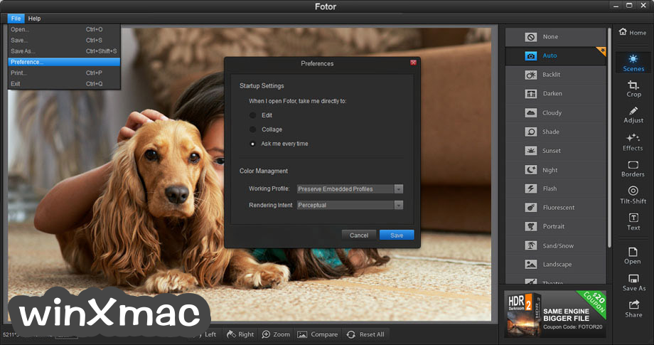 Fotor for Mac Screenshot 1
