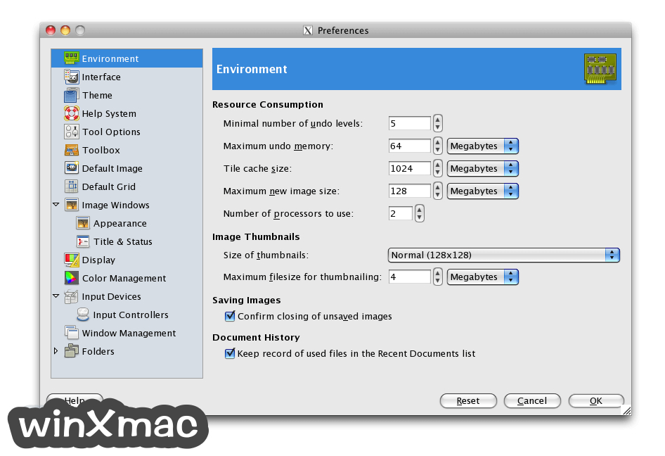 GIMP for Mac Screenshot 4