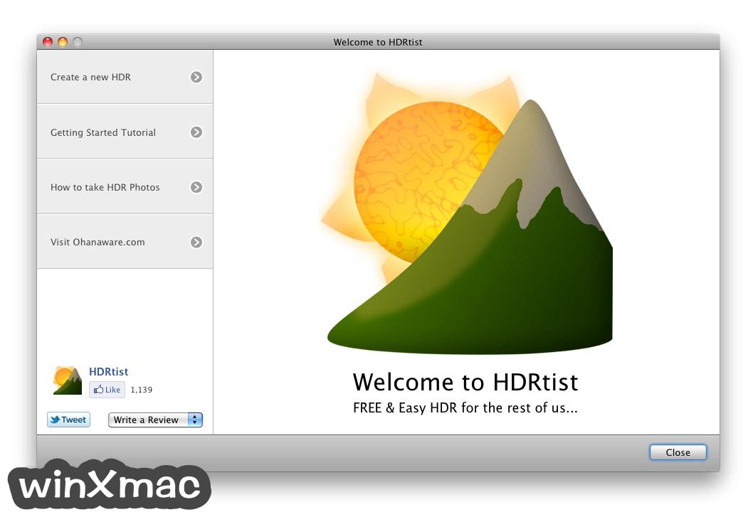 HDRtist for Mac Screenshot 1