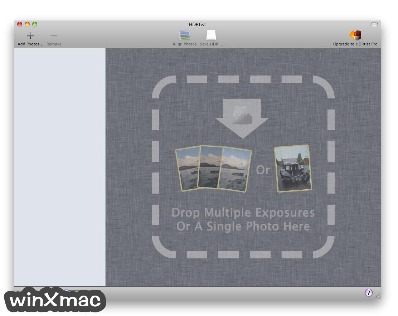 HDRtist for Mac Screenshot 2