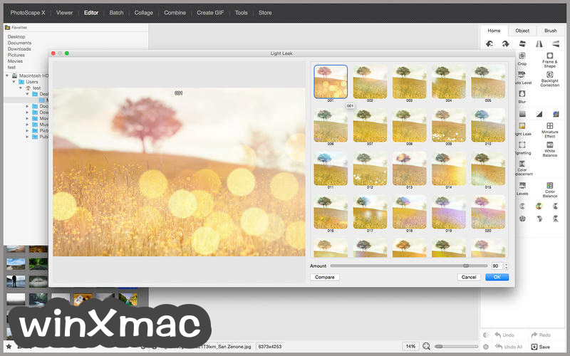 PhotoScape X for Mac Screenshot 2