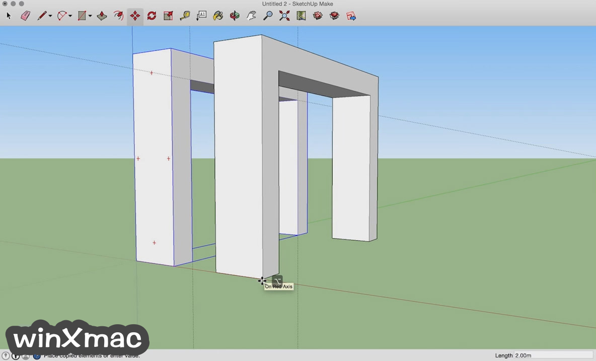 SketchUp Make for Mac Screenshot 1