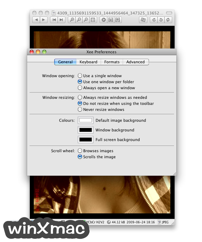 Xee for Mac Screenshot 2