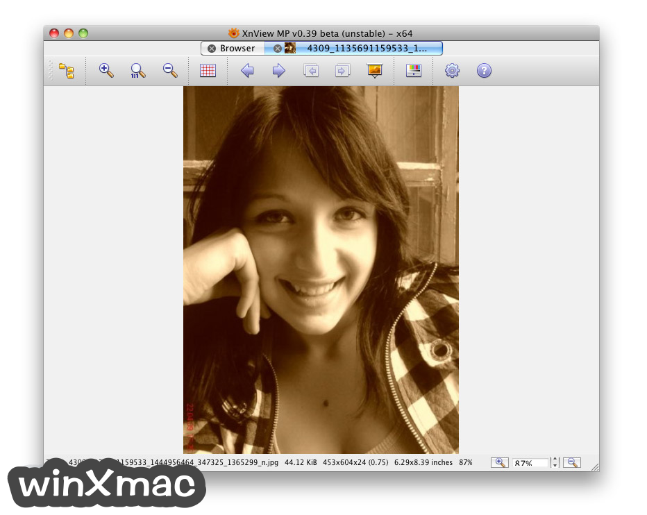 XnViewMP for Mac Screenshot 3