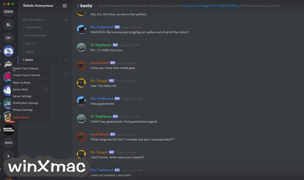 Discord for Mac Screenshot 3