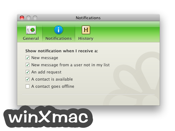 ICQ for Mac Screenshot 3